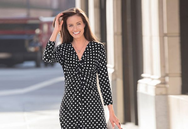 damart-polka-dot-dress