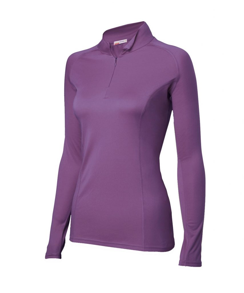 Walking Clothes for the Great Outdoors - Women's Zip Top