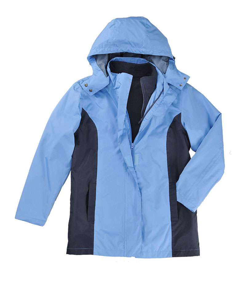 Walking Clothes for the Great Outdoors - 3-in-1 Jacket