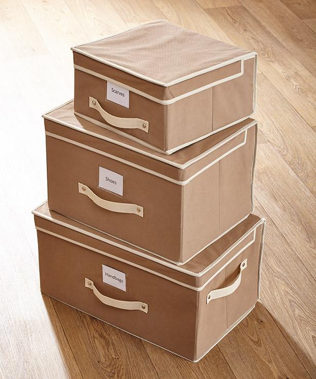 Storage - 3 Piece Storage Chests - Damart