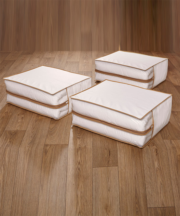 Storage - Set of 3 Storage Bags - Damart