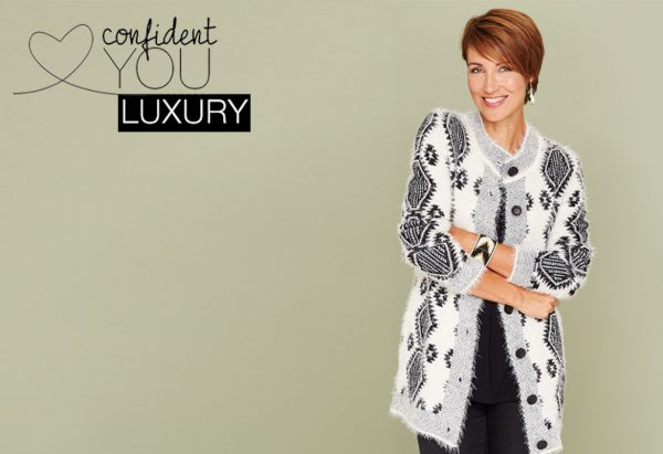 featured fluffy cardigan