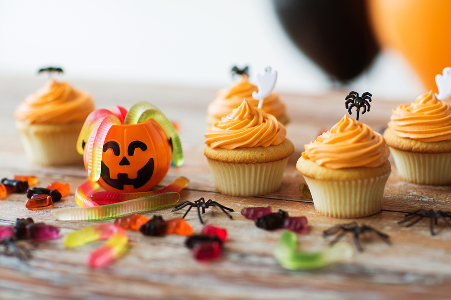 halloween cakes and sweets