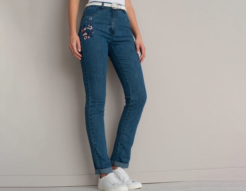 Embroidered Jeans | Damart Jean Guide 2018