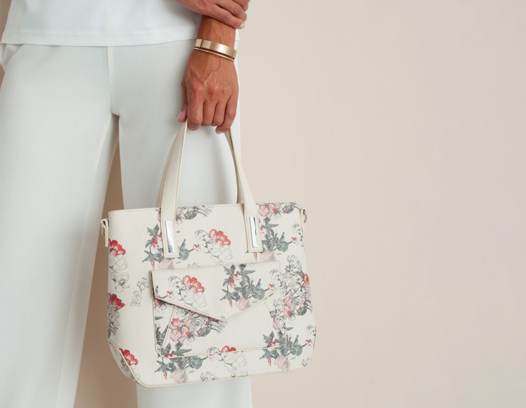 Floral Tote Bag | Ladies Accessories for Valentines Day - Damart Style Diaries