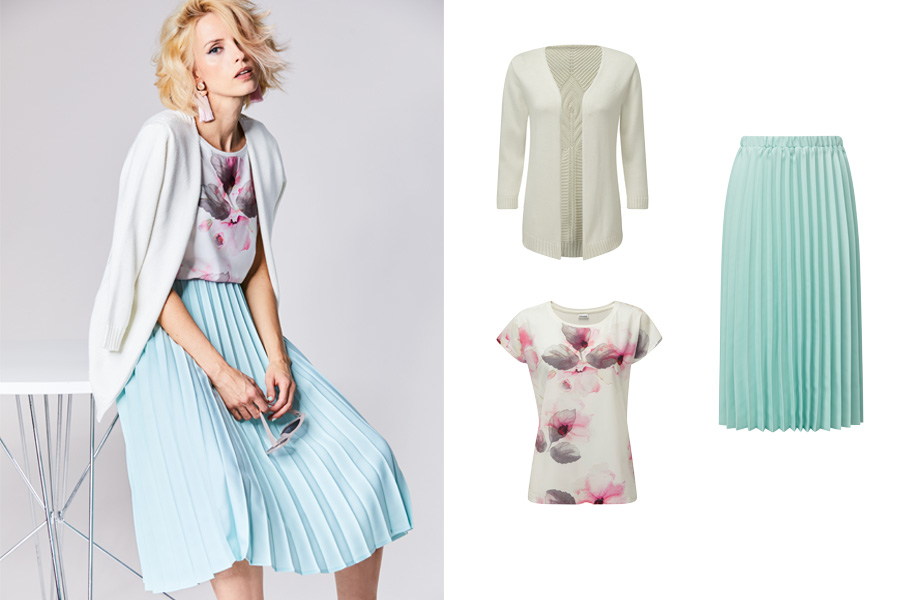 Pleated Pastel | Damart Style Diaries