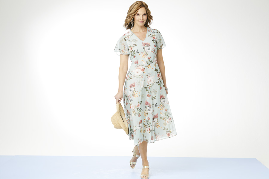 Printed Floral Dress - Choose Your Shape | Damart Style Diaries