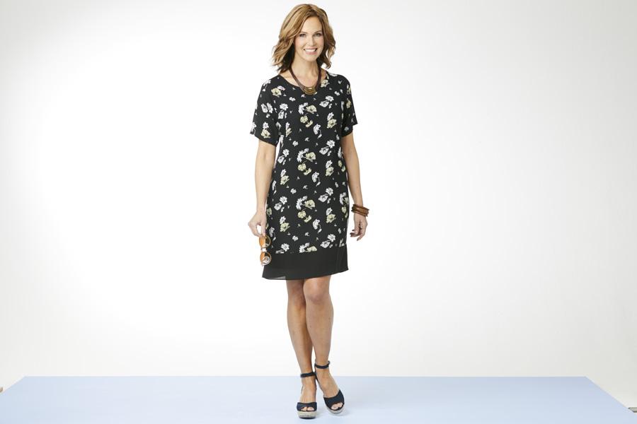 Floral Shift Dress - Choose Your Shape | Damart Style Diaries