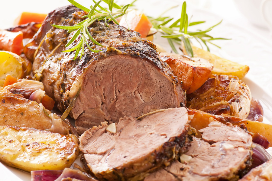 Roast Lamb Recipe | Damart Style Diaries