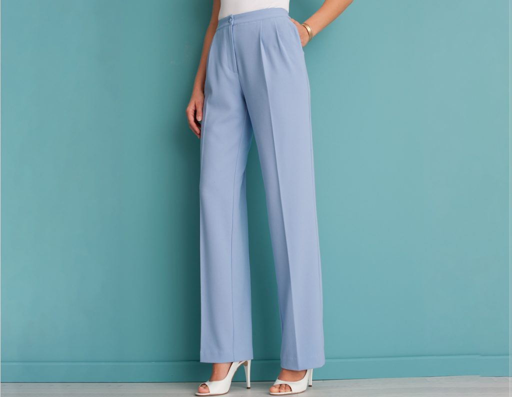 Wide Leg Trousers | Damart Style Diaries