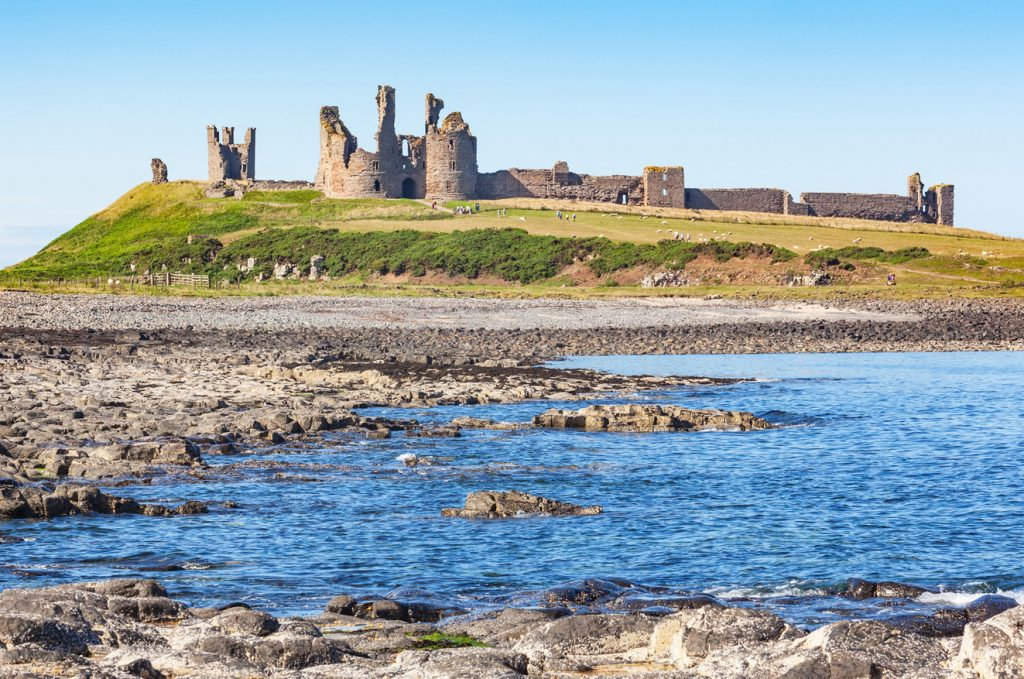 Dunstanburgh Castle, Northumberland | Damart Style Diairies