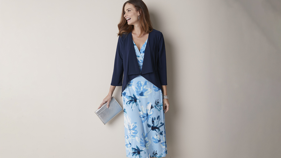 Dress and Shrug   Damart Style Diaries