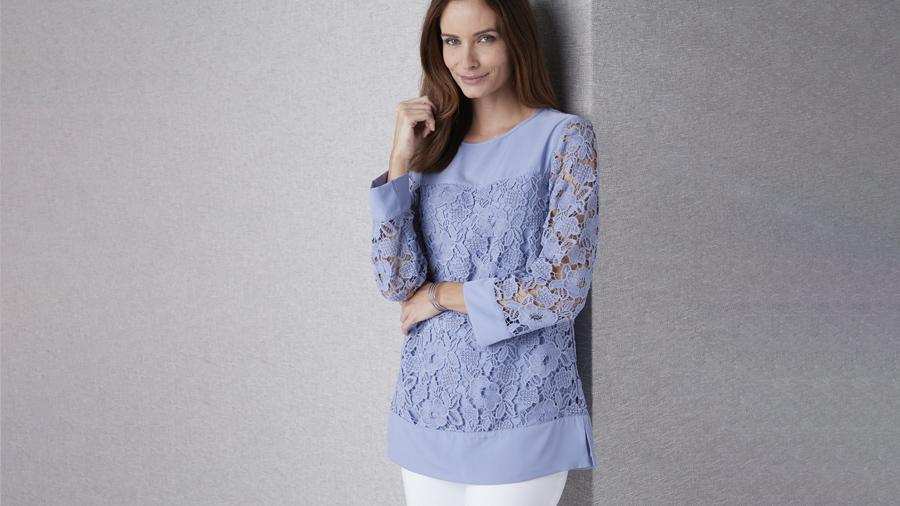Lace Tunic | Damart Style Diaries