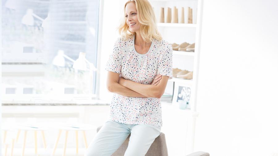 Sea Print Pyjamas | Keep Cool this Summer