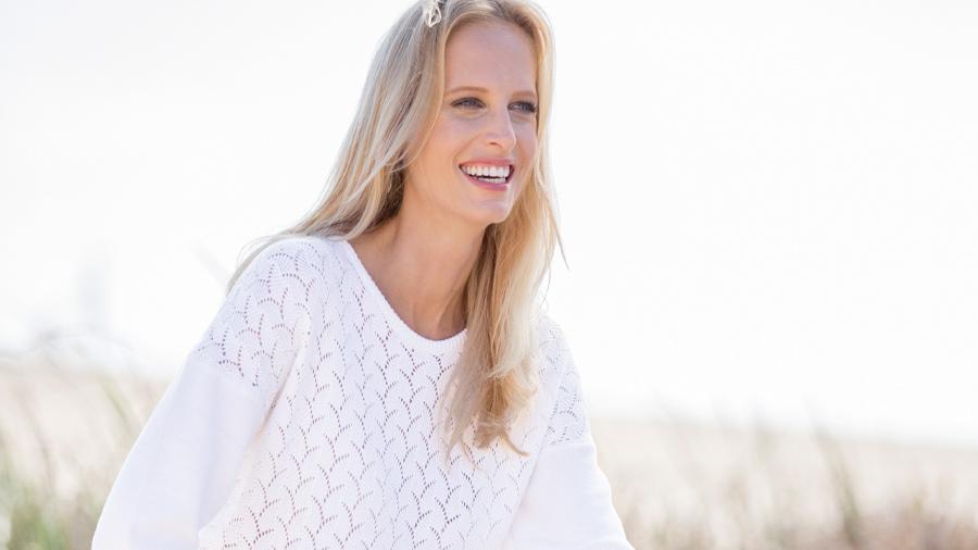 Pointelle Sweater | Wimbledon Whites | Damart Style Diaries