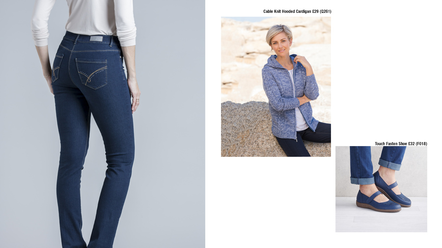 Weekend Relaxing | Ways to Wear Denim | Damart Style Diaries