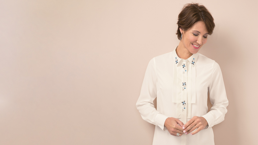 5 Must Haves from our New Collection | Embellished Blouse | Damart Style Diaries