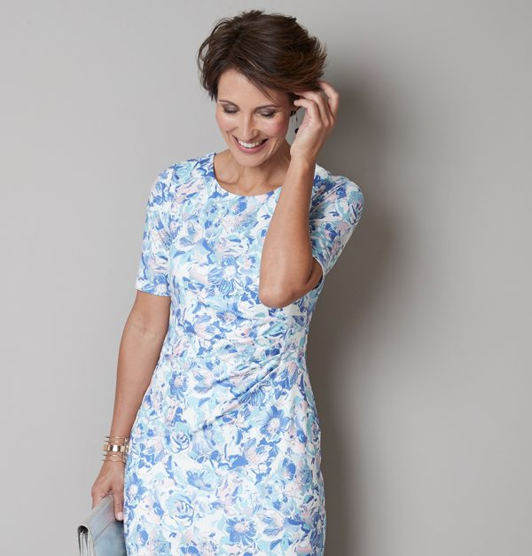 Find the perfect Summer Dress for a warmer evening only at Damart Style Diaries