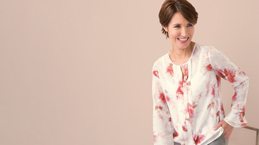 5 Must Haves from our New Collection | Floral Blouse | Damart Style Diaries