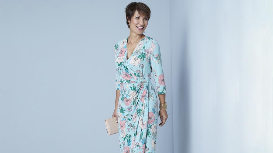 Printed Dress | Summer Evening Dresses | Damart Style Diaries