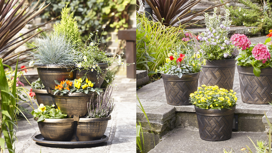 Planters to showcase your flowers