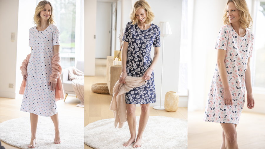 Women's cotton nightdress