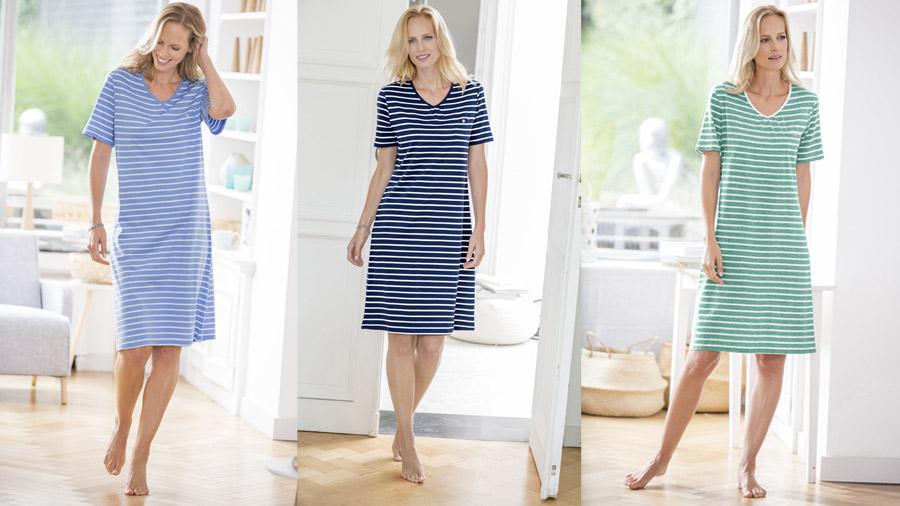 Stripe nightdress