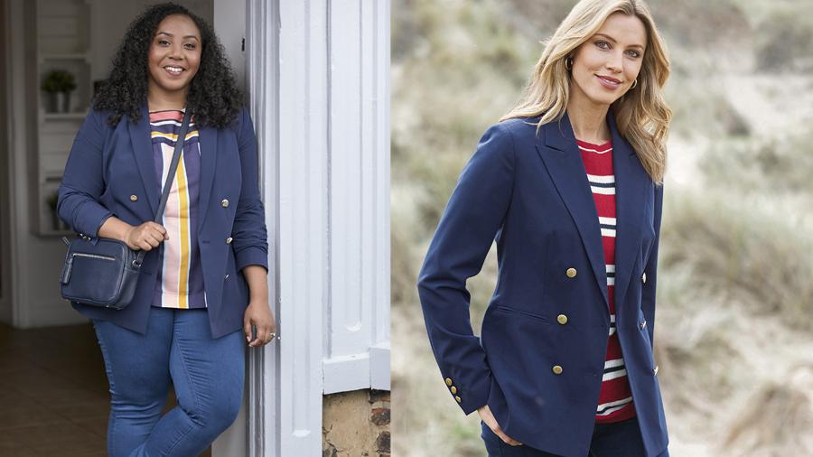 Versatile blazer jacket