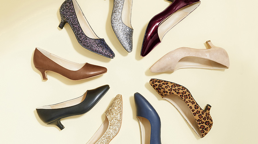 Classic court shoe shape