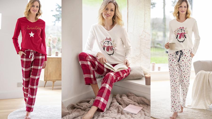 Mix and match pyjamas