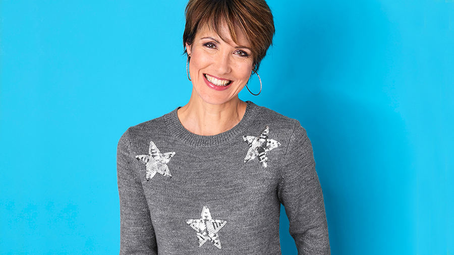 Stars Christmas Jumper