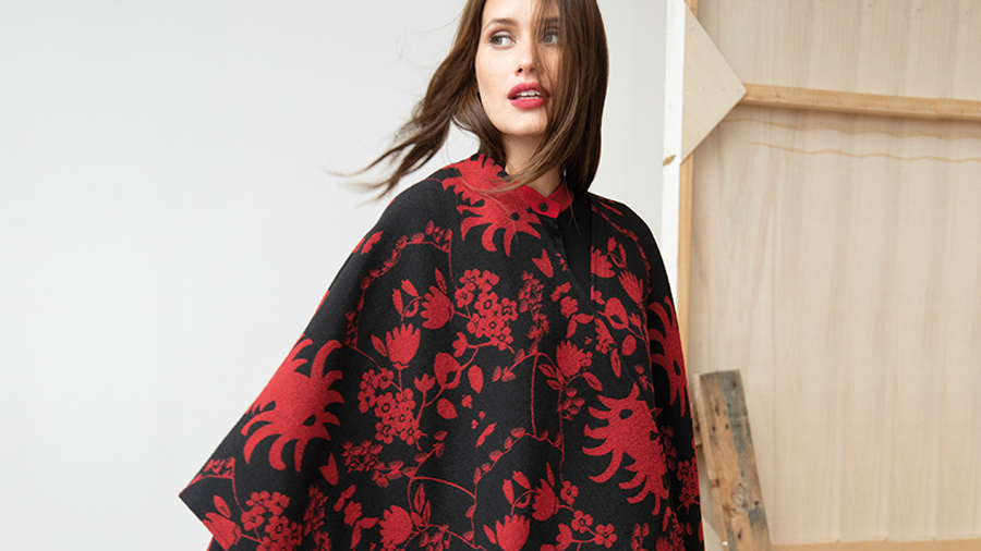 Poncho by Christian Lacroix
