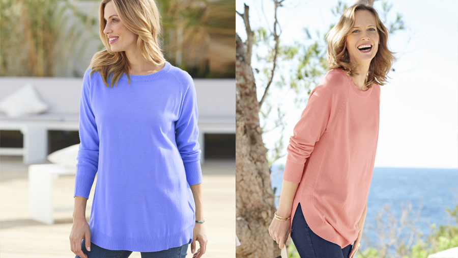 Essential jumper in 3 shades