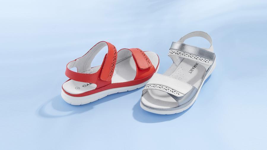 Touch fasten Sandals