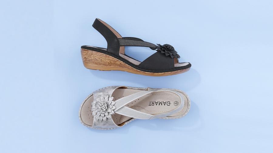 Elasticated Sandals